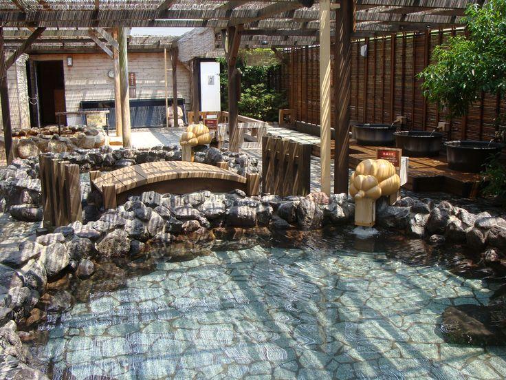 Onsen czyli japońskie SPA - Arima, koło Osaki-