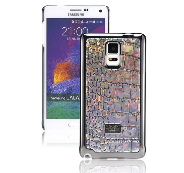 VINTAGE EDITION HOLOGRAM CROCO FASHIONABLE CELL PHONE BACK COVER FOR GALAXY S6