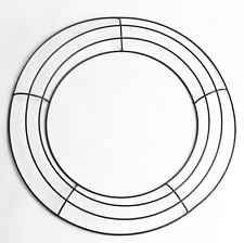 18 inch metal wire wreath frame only 1059 wire work form frame poly deco mesh - Wire Wreath Frame
