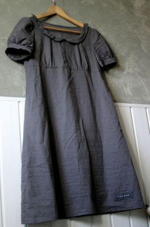S-Claudine: Sewing Pattern, Collar, Dresses, Linen Dresses, Grey Dresses