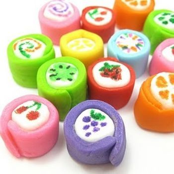 Japanese marshmallow candy