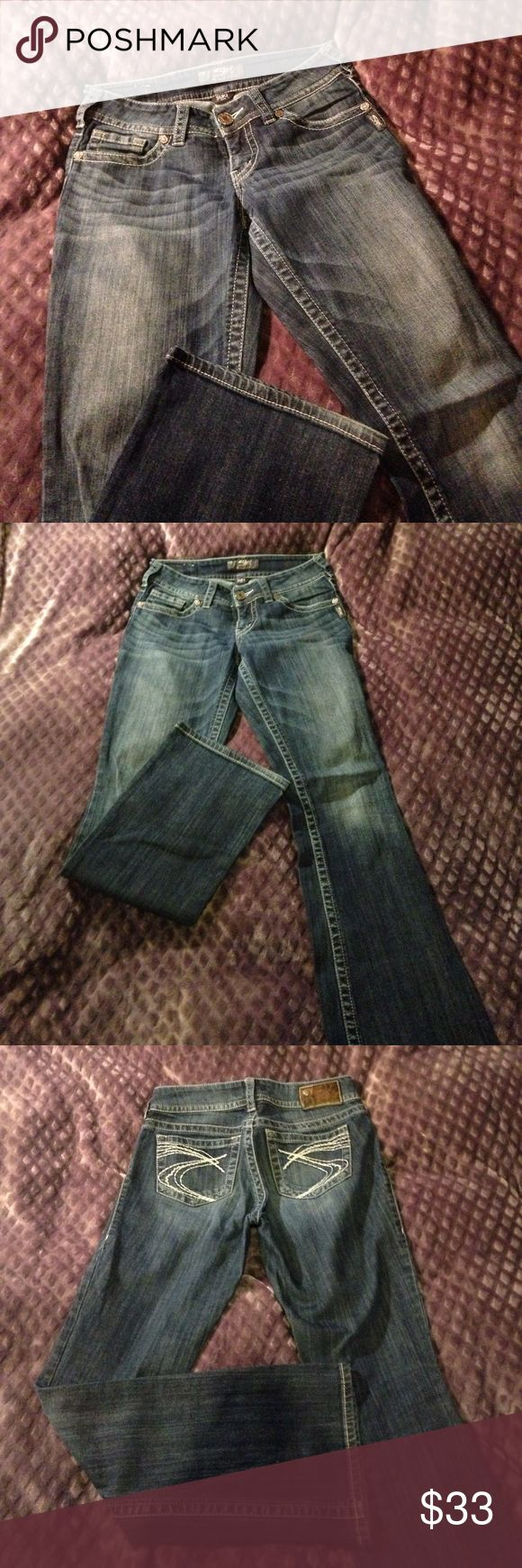 Women's Silver Jeans SUKI W27/L32 Pants Jeans worn only a handful of times. Very comfortable! Too small for me nowadays. Silver Jeans Jeans Flare & Wide Leg