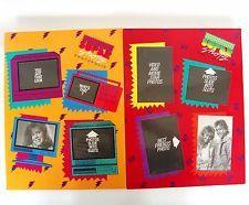 VTG 80s Mead Portfolio Photo Folders Super Shots Notebook Trapper Keeper Binder