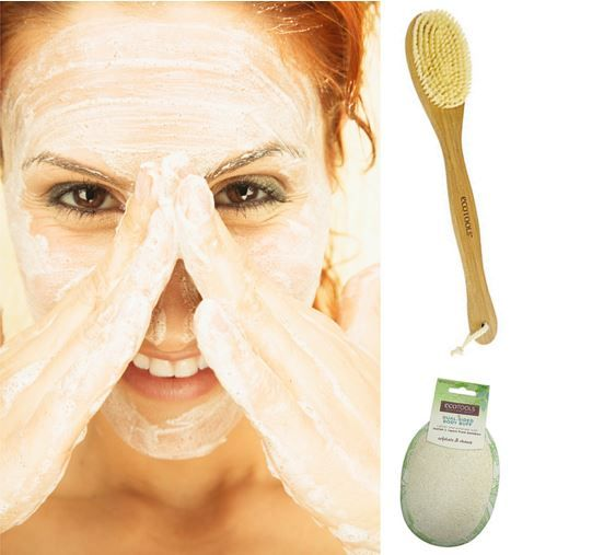 Buff Your #Skin Back To Beautiful!   Say Goodbye To Flaky Skin With 3 Fall Skincare Tips