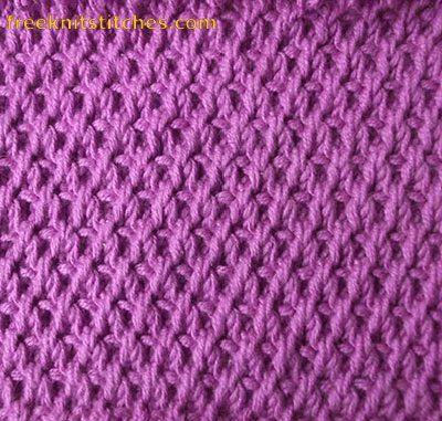 einfaches Muster, das nicht wie gestrickt aussieht