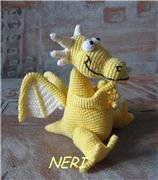 Directions for yet another Dragon. This is just tooooo cute!!! Free pattern for this amigurumi dragon are translated; I might have a little deciphering to do, but would be worth a try.
