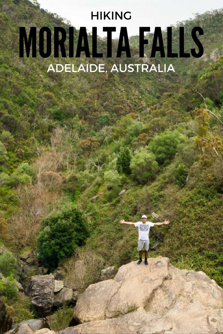 HIKING MORIALTA FALLS IN ADELAIDE AUSTRALIA Morialta Falls, home of the Three Falls hike and many other walking trails, offers scenic views of the breathtaking hills surrounding Adelaide