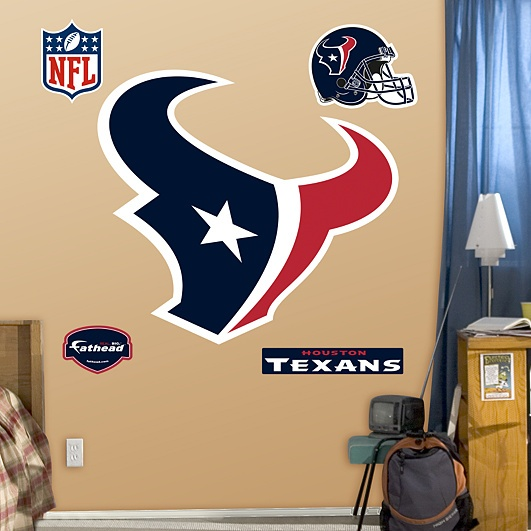 Getting this for our boy's room :)Houston Texans Logo