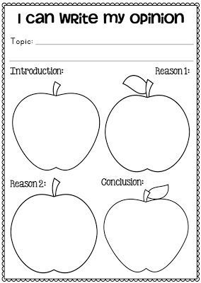 FREE Johnny Appleseed Opinion Writing Grade One and Two Sample Image