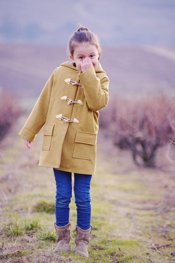 Ivanne.S | Comment coudre un manteau duffle coat pour enfant ?