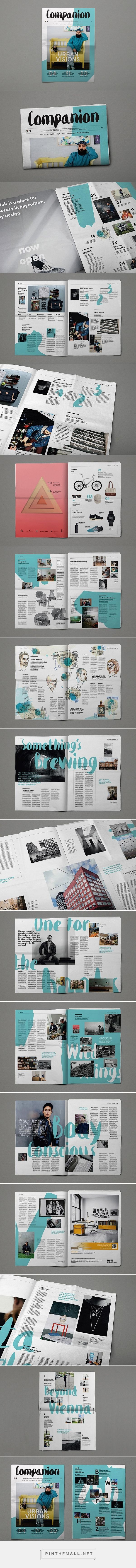 Editorial Design Inspiration: Companion Magazine | Abduzeedo Design Inspiration: