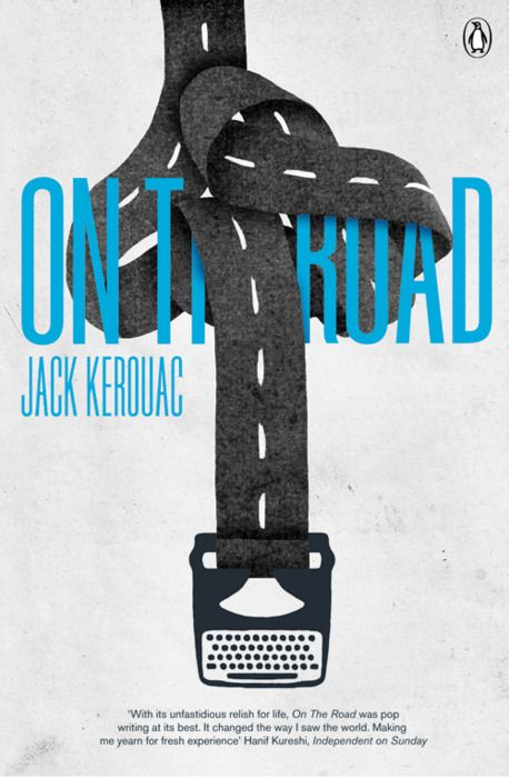 On The Road entry for the 2008 Penguin Design Award by Jez Burrows: Graphic Design, Cover Design, Poster, Jack Kerouac, Jack O'Connell, Book Covers, Roads