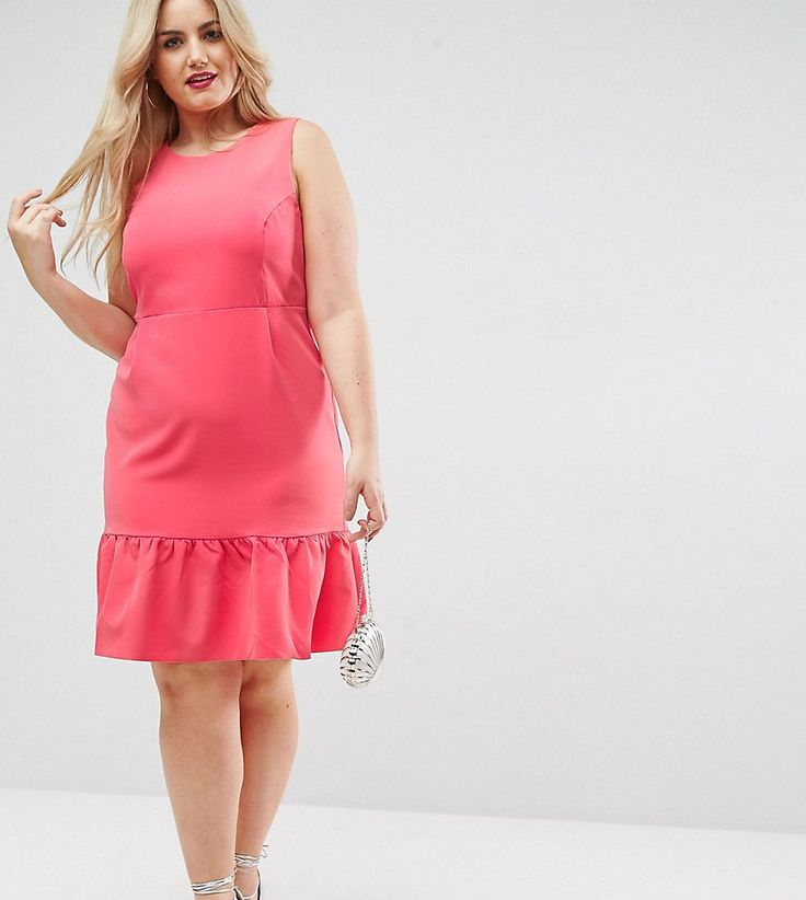 Asos kleider rosa