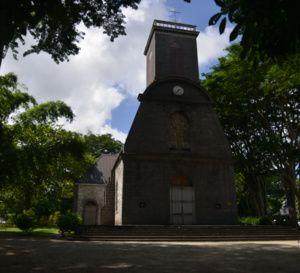 L'Eglise de Saint-François-D'assise à Pamplemousse