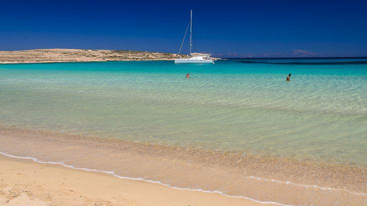 Pori beach Koufonisia island Greece