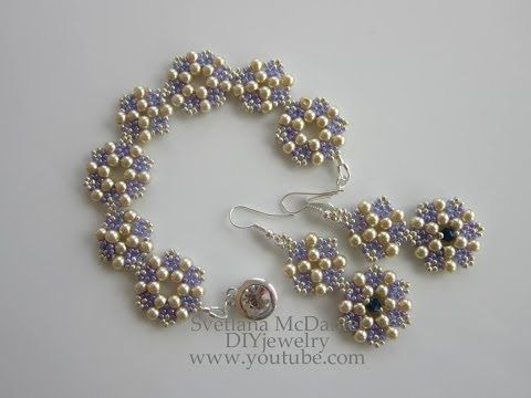 ▶ Purple Beaded Bracelet - YouTube