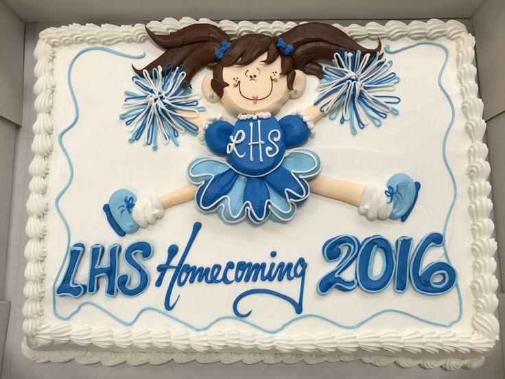 25 Best Ideas About Cheerleader Cakes On Pinterest