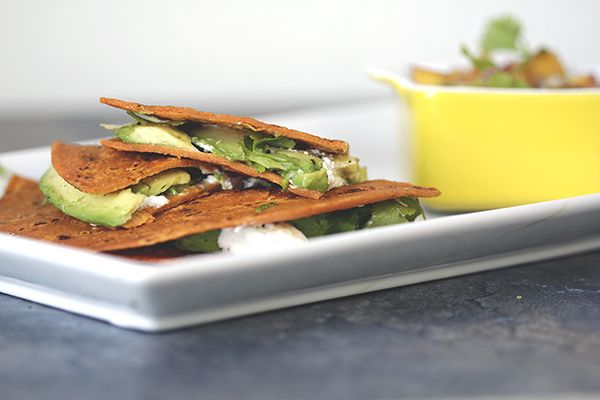 Goat Cheese and Avocado Quesadillas with Nectarine Salsa — The ...