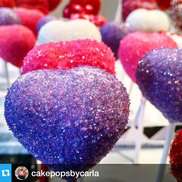 #Repost @cakepopsbycarla with @repostapp.・・・I love Valentine's Day! So excited that people are giving their boyfriends/girlfriends/wives/husbands cake pops!  I've made over 22 dozen the past two days using @mylittlecakepop heart molds. Without them, this wouldnt have been possible!  I'll have pictures later of arrangements! ❤