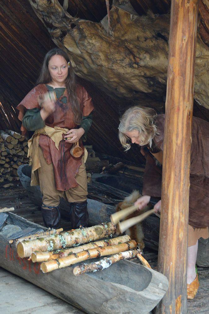 Kivikauden asumuksessa soivat muinaiset rytmit. Luuppi, Oulu (Finland)