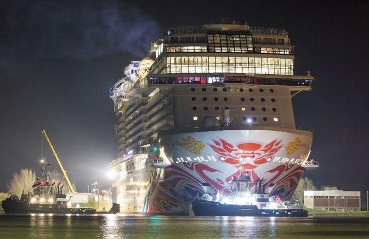 NCL: Norwegian Joy pronta al debutto in Cina. Il battesimo il 27 giugno | Dream Blog Cruise Magazine