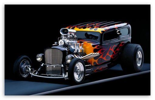 Hot Rod HD Wallpaper
