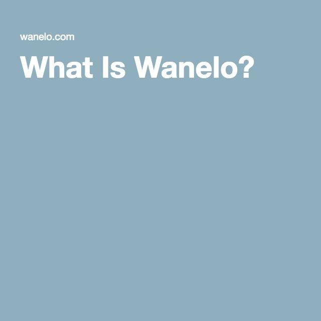 What Is Wanelo?