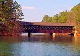 Stone Mountain Park Covered Bridge  Stone Mountain, GA