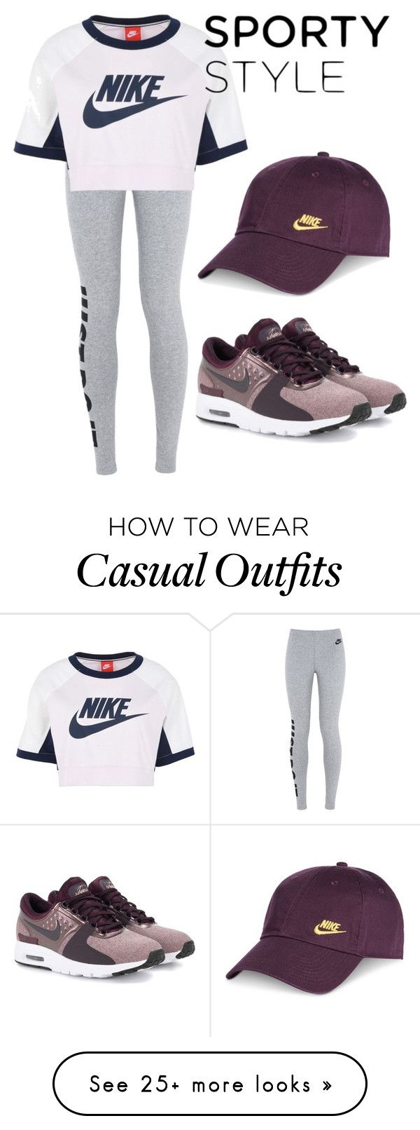 """""""#Sport girl"""" by sin-yasumin on Polyvore featuring NIKE"""
