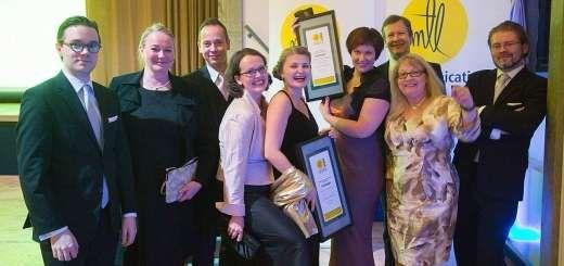 MTL Communications Awards 2013 oli jälleen yhtä juhlaa. Awardien kanssa kotiin näistäkin juhlista. Kiitos upeasta yhteistyöstä Valkee ja Metsähallitus!