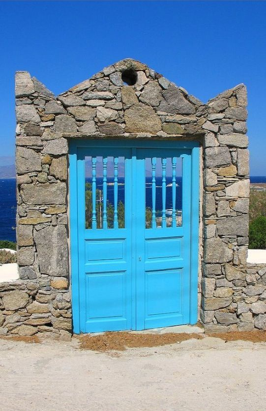 pictures of doors in greece | Found on flickr.com