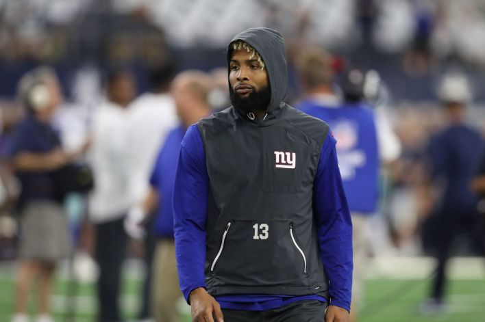 Odell Beckham Jr. injury update: Giants receiver listed as questionable for Monday Night Football