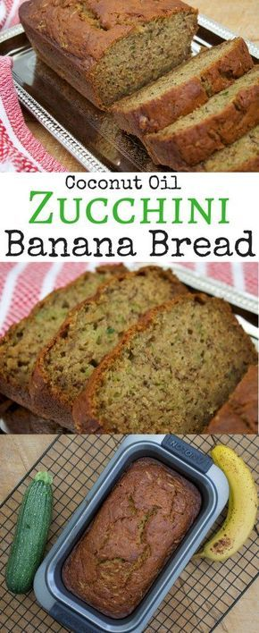 Moist, soft and amazing... This recipe for Zucchini Banana Bread comes out PERFECT every single time! Simple, fast, reliable zucchini recipe you are going to make again and again.