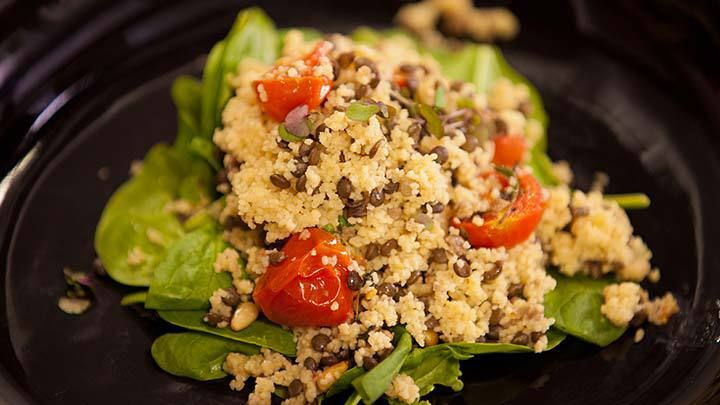 Tea Infused Couscous Salad