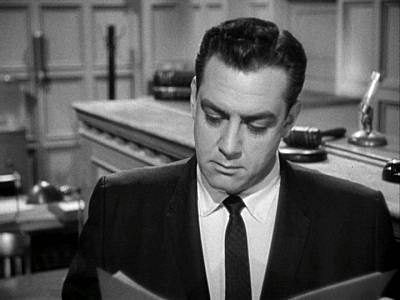 """Perry Mason (as portrayed by Raymond Burr) All the books are good...""""The Case of the Crimson Kiss"""", """"The Fandancer's Horse""""...Erle Stanley Gardner"""
