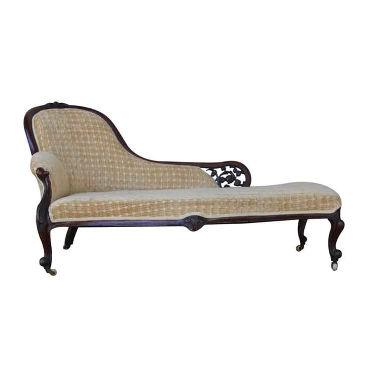 American Rosewood Diminutive Recamier or Chaise Longue  sc 1 st  Pinterest : vintage chaise lounge sofa - Sectionals, Sofas & Couches