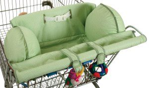 Leachco shopping cart cover with pillows for unstable sitters