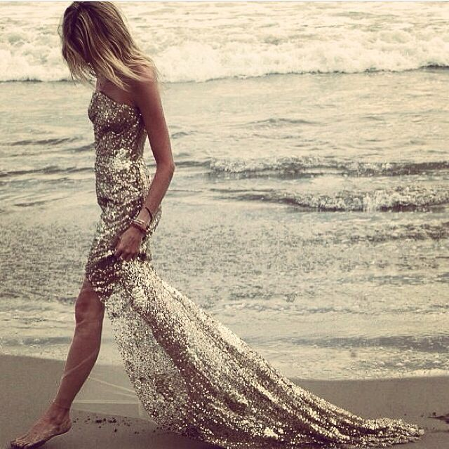 Dress beach sand glitter pinterest.com/sahstarr