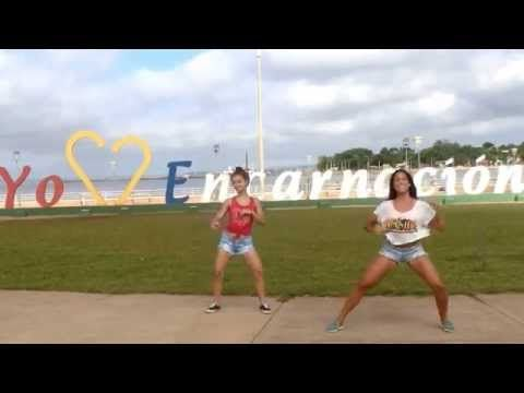 "TwoLicious - Gabriela & Erica performing ""Chica Brasileña"" by El Super Hobby - Zumba®Fitness Choreo - YouTube"