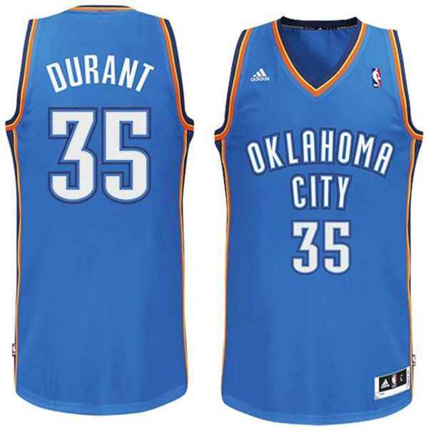 Buy Kevin Durant Oklahoma City Thunder Revolution 30 Swingman Royal Blue  Jersey from Reliable Kevin Durant Oklahoma City Thunder Revolution 30  Swingman ...