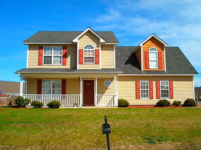 Excellent two story home with amazing front porch ready for 2 story house price