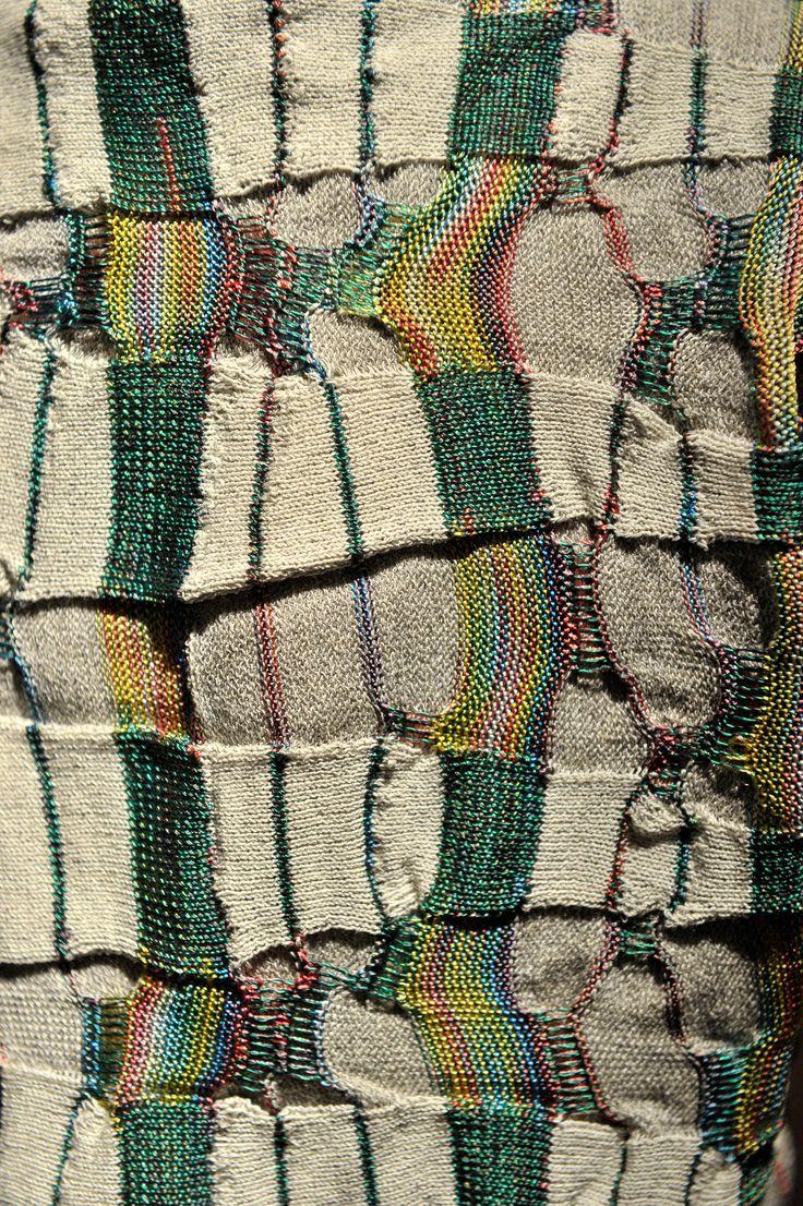 Pitti Filati 68   detail: Senso   knit   Italy