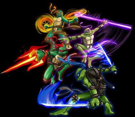 Image result for tortuga ninja rafael sus armas de juguete