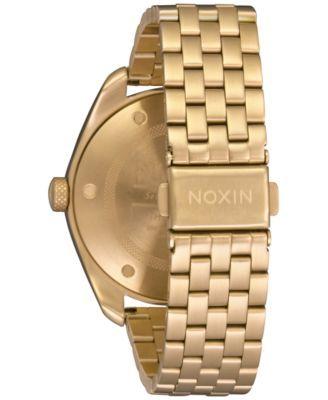 Nixon Women's Stainless Steel Bracelet Watch 38mm - Gold
