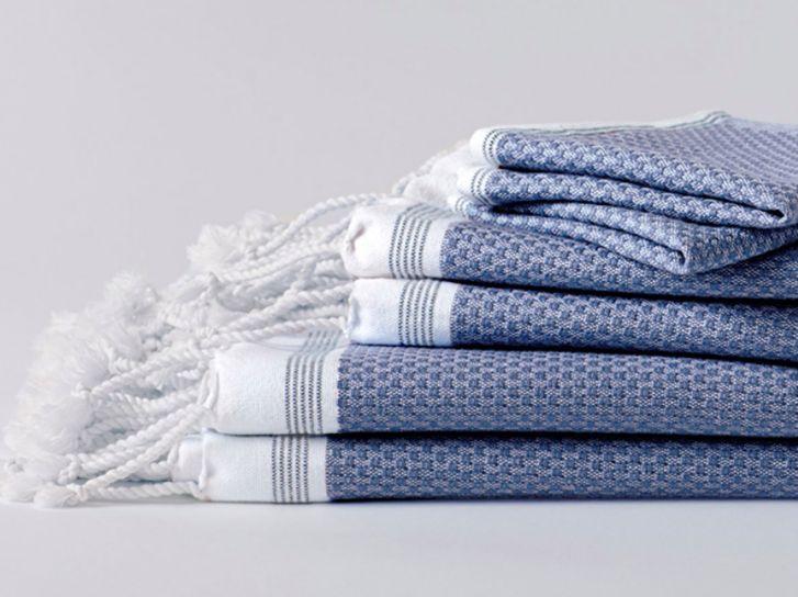 Coyuchi Mediterranean Bath Towels, 5 colors