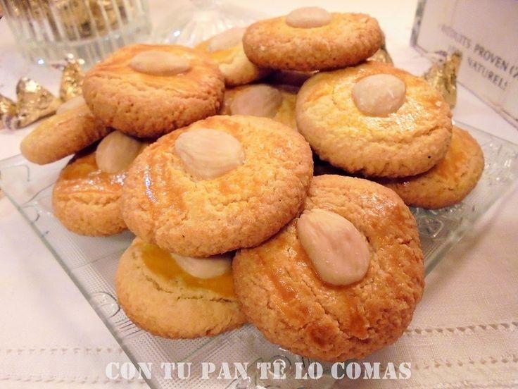 Con tu pan te lo comas: GALLETAS DE ALMENDRA