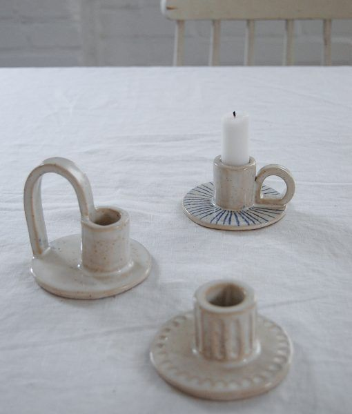 COMING SOON – A series of one of a kind candleholders – Hear Hear