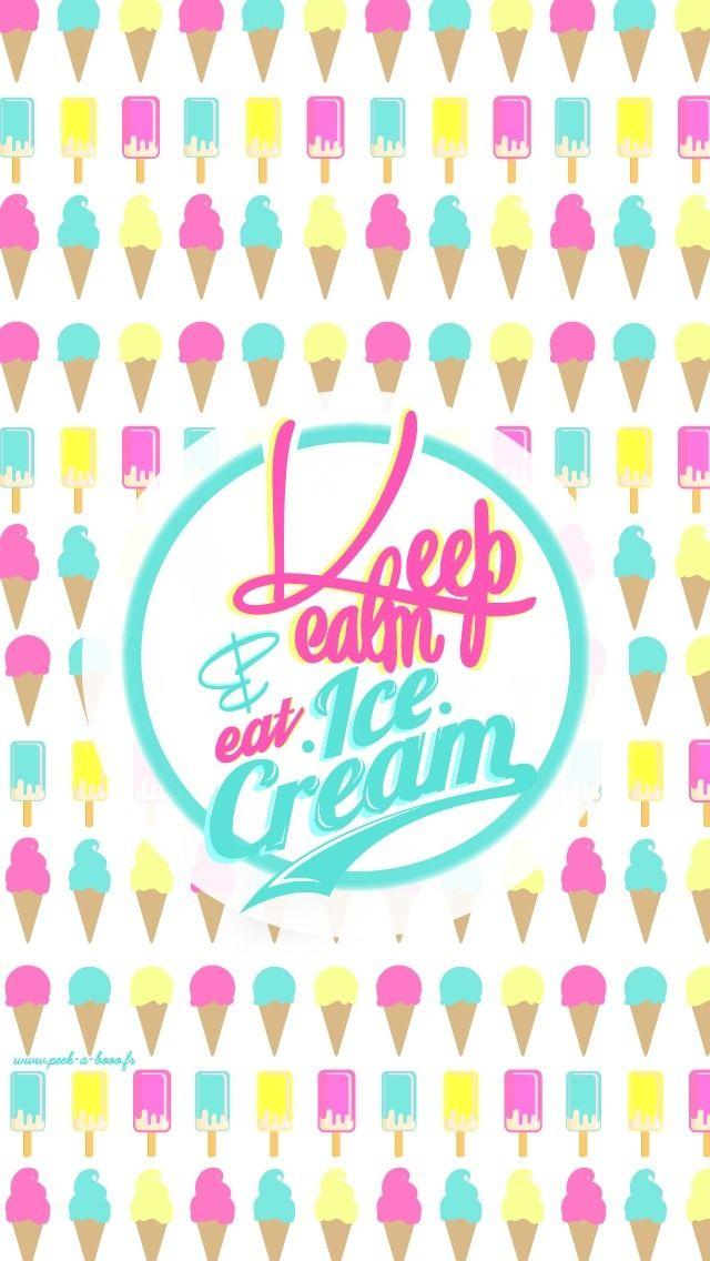 Ice Cream Wallpaper Lockscreen | Jenn❥