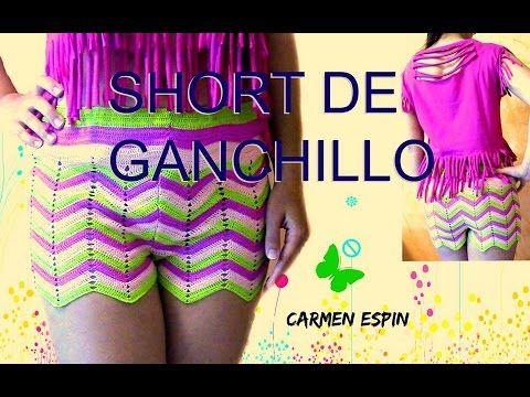 SHORT DE GANCHILLO: DIY