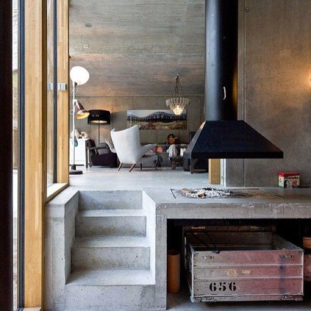 70 best Concrete images on Pinterest Architecture interiors - küchen wanduhren design